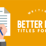 Writing Better Page Titles for SEO