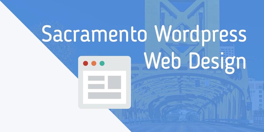 sacramento wordpress web design
