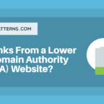 Are links from lower domain authority bad?