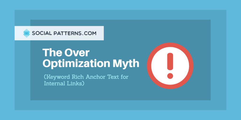 keyword rich anchor text internal links