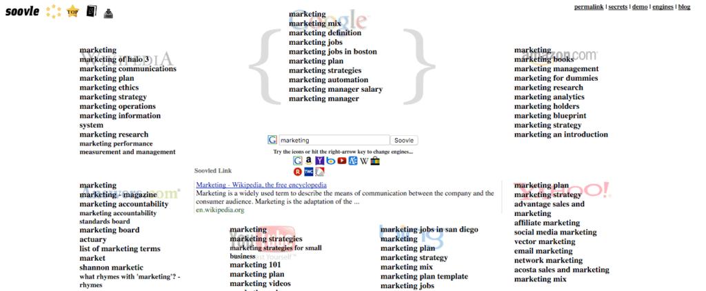 69 keyword research tools the ultimate list of free paid tools soovle keyword tool malvernweather Choice Image