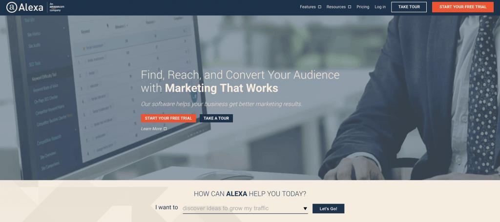 alexa homepage